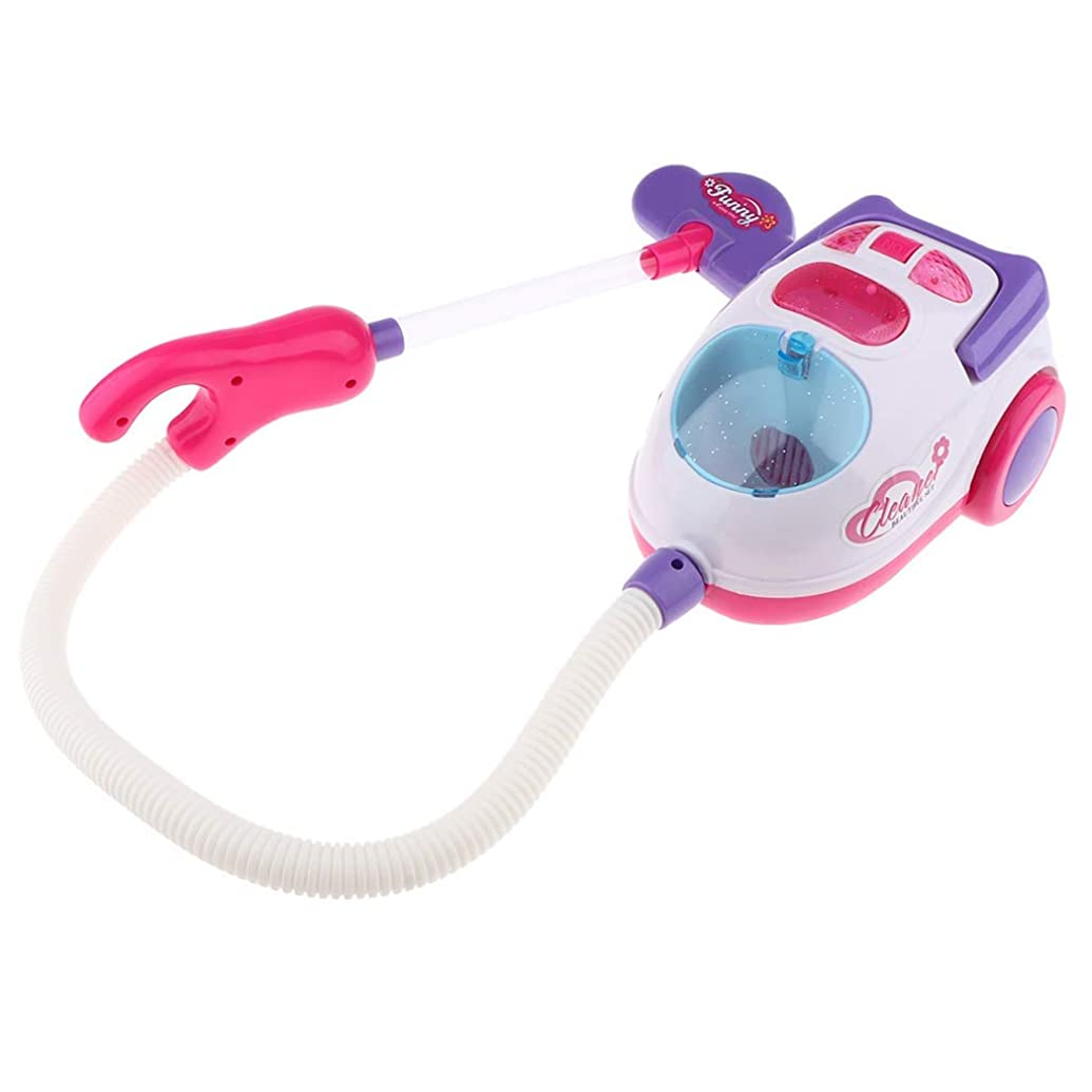 標準もつれ植物学者家事 ごっこ遊びQunqene ごっこ遊び おままごと 掃除機 家事ごっこ 電子玩具 アプライアンス玩具 ふり遊び おもちゃ