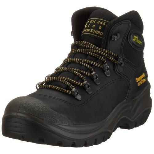 Grisport 703LDV16, Herren Arbeits & Sicherheitsschuhe S3, schwarz, (schwarz), EU 39