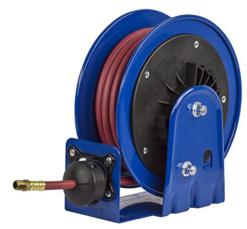 Coxreels LG Series LG-LP-125 Air/Water Hose Reel,Blue, 1/4