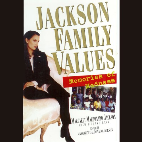 Jackson Family Values audiobook cover art