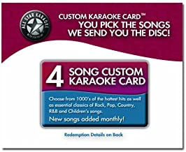 all star karaoke custom cd