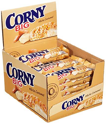 Corny Big White Caramel Limited Edition, Müsliriegel, 24er Pack (24 x 40g)