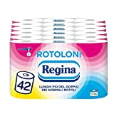 Regina Rolls - Carta igienica (500 fogli per rotolo, 100% certificato FSC, 42...