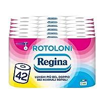 Regina Rotoloni Carta Igienica, 42 Maxi Rotoli
