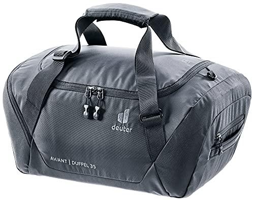 Deuter AViANT Duffel 35, Borsa Sportiva Unisex-Adult, Black, 35 L