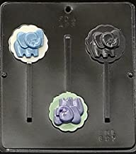 Candy Molds N More Elephant Lollipop Chocolate Candy Mold 697