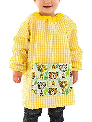 KLOTTZ - BABI GUARDERIA TIGRES SIN BOTONES Niñas color: AMARILLO talla: 3