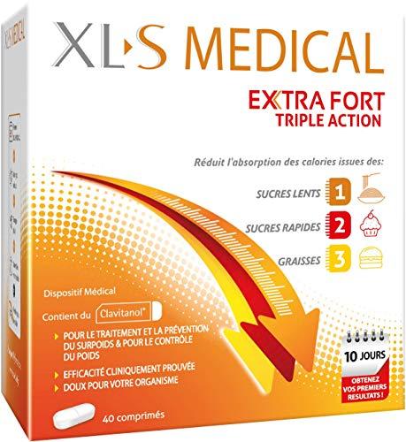 XL-S MEDICAL Extra Fort – Pour une aide à la Perte de Poids Efficace* – Réduit L'Absorption...