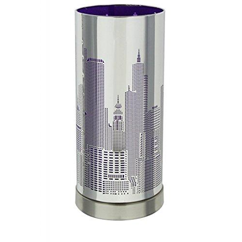 AC-Déco Lampe Touch New York Violet