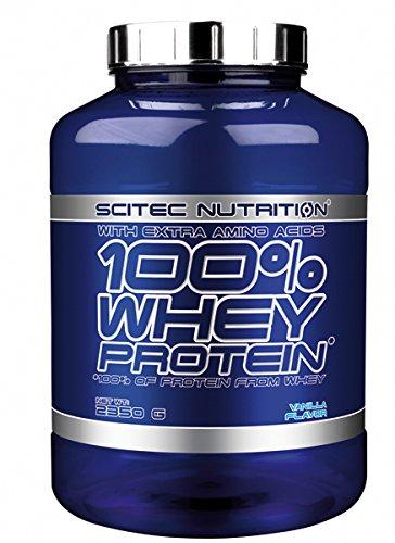 Scitec Nutrition Whey Protein Proteína Vainilla - 2350 g