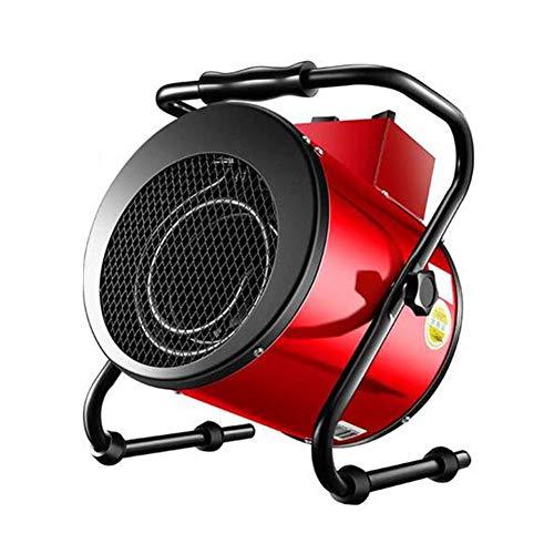Calefacción Calentador Eléctrico Portátil Industrial De 5KW / 9KW Para Uso Intensivo Del Espacio Para La Tienda, Oficina, Aula, Hogar, Taller De Garaje, Cobertizo De Invernadero, Ca(Size:380V / 9000W)