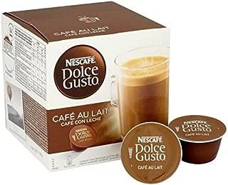 Nescafe Dolce Gusto Cafe Au Lait 160g - Pack of 2