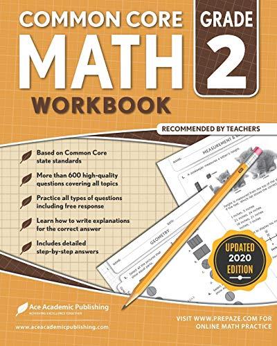 2nd grade Math Workbook: CommonCore Math W