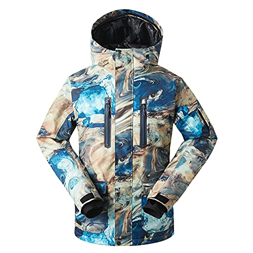 Men's Winter Coat Ski Snowboard Jacket Windproof Waterproof for Winter Sports