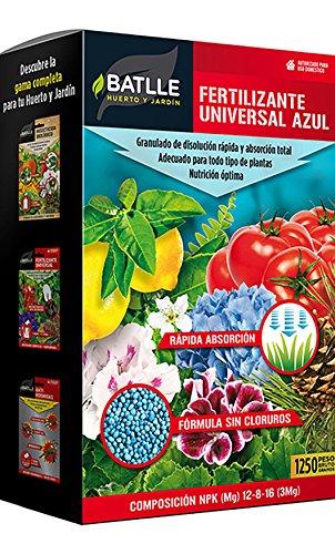 Abonos - Fertilizante Universal Azul Caja 1250 g - Batlle
