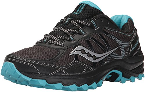 Saucony Women's Excursion TR11, Black Blue, 7 Medium US