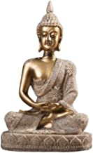 Collectible Figurines Sandstone Buddha Statue Sculpture Figurine Model Home Decor