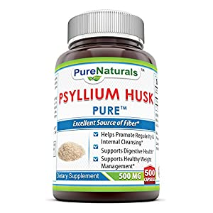 We are committed to bringing you products that promote and support the true wellness of your whole body and mind Psyllium husk is an excellent source of fiber Pure Naturals Whole Husk Psyllium is nature's finest remedy for digestive health and to cle...