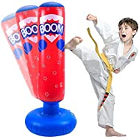 Taekwondo Saco de boxeo Entrenamiento de Patadas de descompresi/ón JanTeelGO saco de boxeo de pie 160c Practicando Karate saco boxeo ni/ños Independiente para Adultos