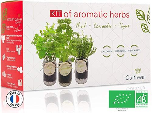 Cultivea Kit completo de hierbas - Cultiva tus propias hierb