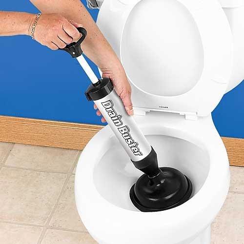 Bakaji Plunger Abflüsse und WC A Pumpe manuell Rohrreinigungsgerät A Druck Drain Buster Stura Rohre