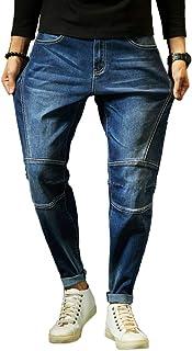 Big Sam ジーンズ メンズ 大きいサイズ デニムパンツ ストレッチ ジーパン 基本着 足長 ストレッチ 素材で 着心地 抜群 の テーパード ジーンズ 美脚 定番 キレイめ パンツ ズボン