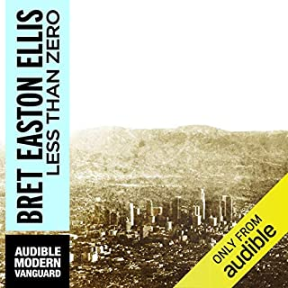 Less Than Zero audiobook cover art