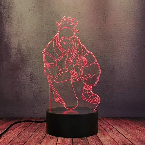 Tatapai Luz de noche 3D para niños Lámpara de ilusión de tren de vapor Lámpara de decoración de dormitorio con cambio de 7 colores con control remoto para niños Regalos de cumpleaños para niños niñas
