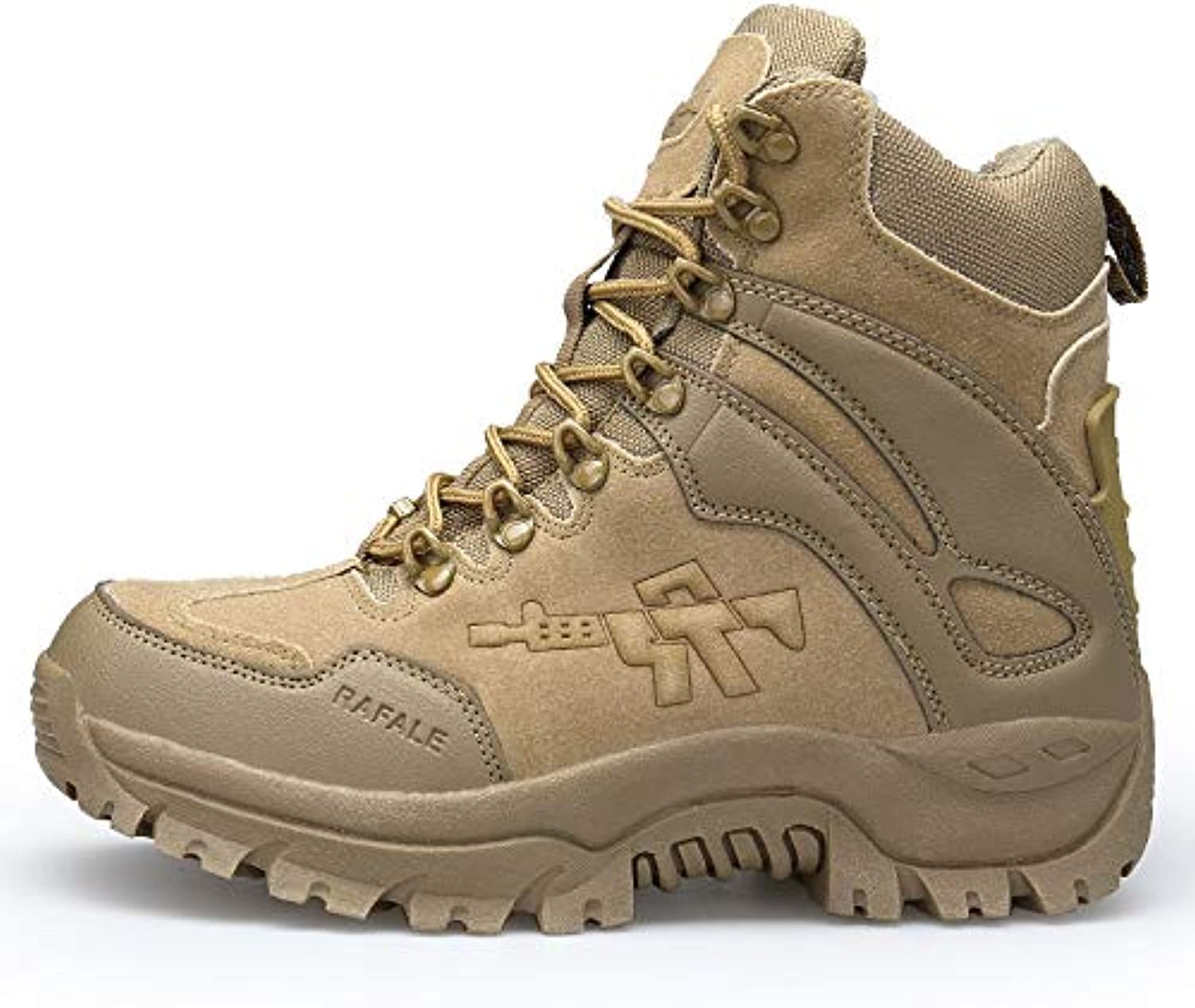 HCBYJ shoes Outdoor hiking shoes men's shoes breathable non-slip walking shoes tactical tooling