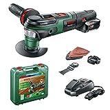 Outil multifonctions sans fil Bosch - AdvancedMulti 18 avec set d'accessoires (Livré avec 1 batterie 18V - 2,5Ah et chargeur, système 18V)