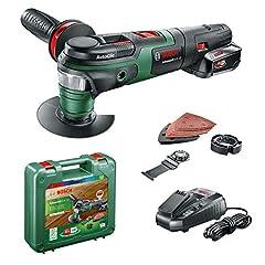 Bosch Batteri Multifunktionsverktyg AdvancedMulti 18 (1 batteri, 18 volt system, i fall)