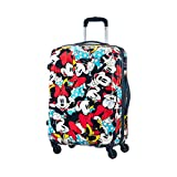 American Tourister Disney Legends Spinner M Valigia per bambini, 65 cm, 62.5 L, Multicolore (Minnie Comics)