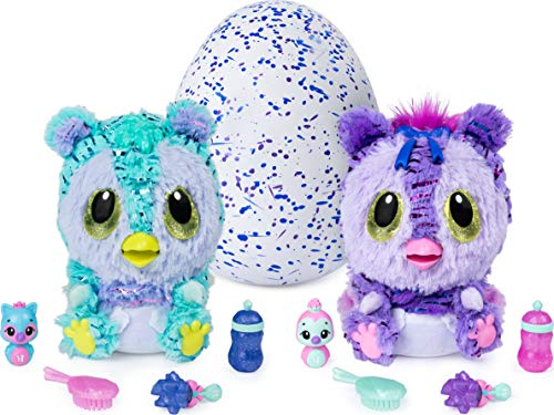 Hatchimals, HatchiBabies Kitsee, Hatching Egg with Interactive Pet Baby