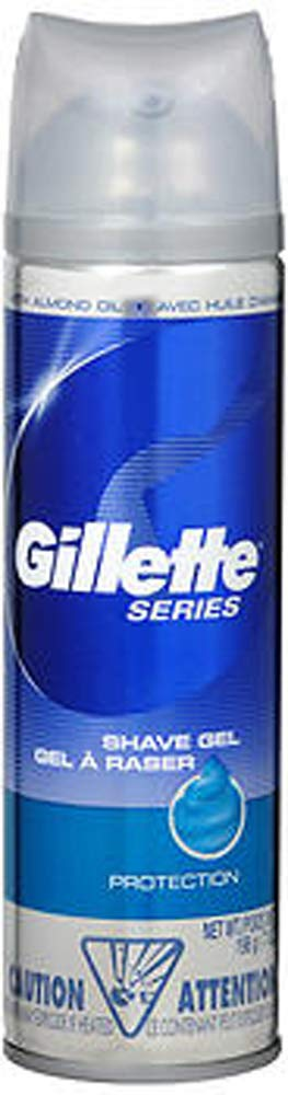 Gillette Series Shaving Columbus Mall Gel Protection - oz 7 of 3 Pack Max 89% OFF