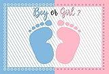 Fondo de fotografía de príncipe o Princesa de revelación de género Fiesta de recién Nacido bebé niña o niño Accesorios de Fondo de Disparo A14 9x6ft / 2,7x1,8 m