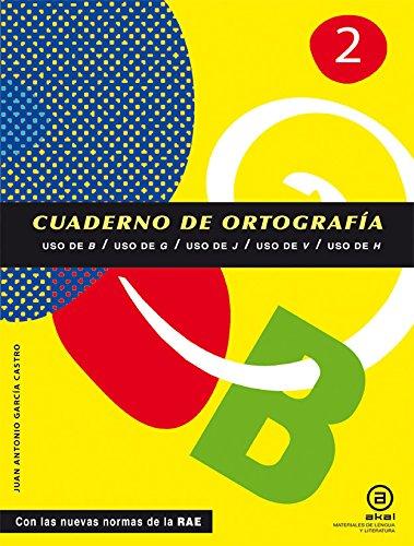 Cuadernos De Ortografía. Uso De B, G, J, V, H. 1º ESO - Número 2 (Materiales Lengua Y Lit.)