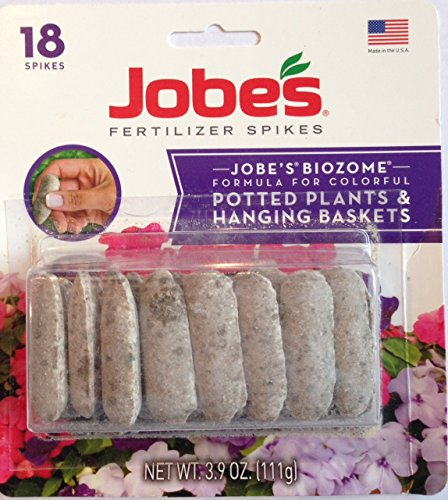 Jobes Biozome Fertilizer Formula for Potted Plants & Hanging...