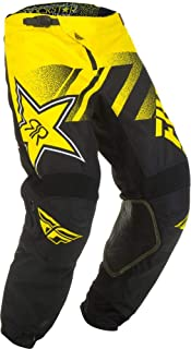 Fly Racing 2019 Kinetic Pants - Rockstar (34) (Yellow/Black)