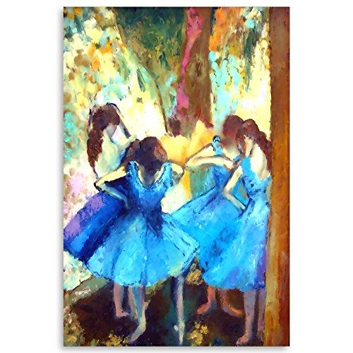 Metal de Aluminio de Degas–Bailarina Arte de la pared pintura hecha a mano