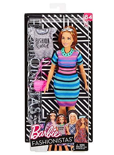 barbie grassa Barbie- Fashionistas Tinte Vivaci con Un Secondo Look Incluso Bambola