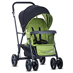 Sit and Stand Stroller with car seat adapter