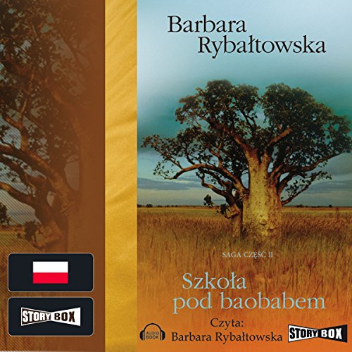 Szkoła pod baobabem audiobook cover art