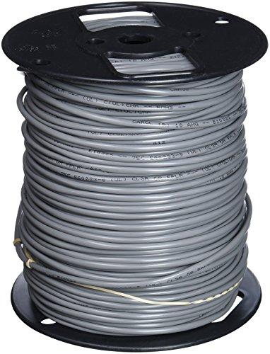 Carol E1032S.18.10 2 Sound, Alarm and Security Cable, Multi-Conductor, Unshielded, Riser, Gray Premium-Grade, Gray PVC, 500'