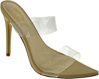 Ladies Anne Michelle Pearl Trim Mule *Sandals*