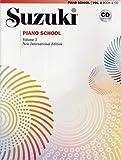Suzuki Piano School, Vol 2: Book & CD