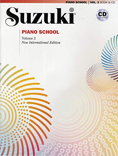 Suzuki Piano School New International Edition Piano Book and CD, Volume 2: New International Editions