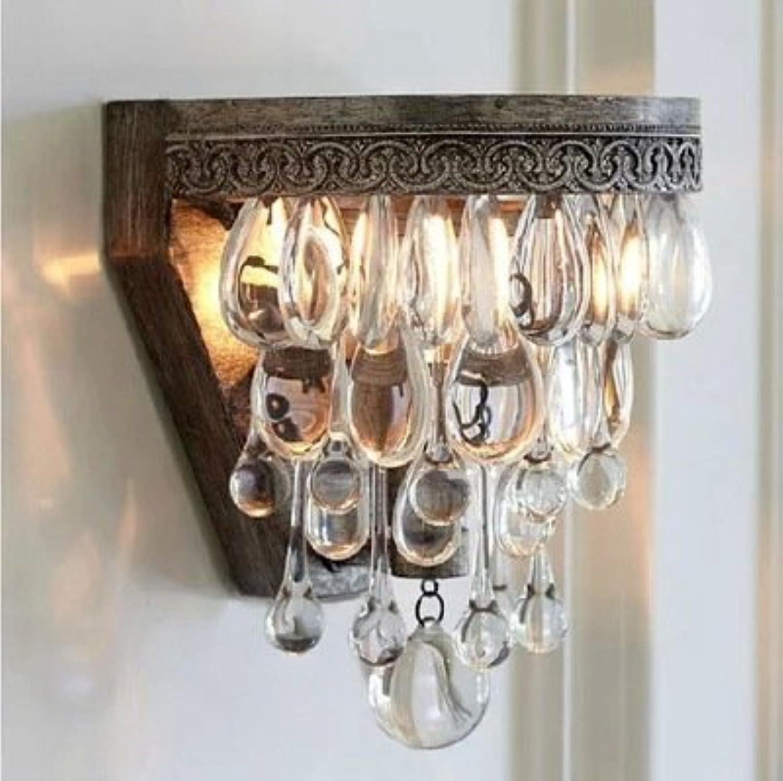 StiefelU LED Wandleuchte nach oben und unten Wandleuchten High end von Kristall Kerzen im Wohnzimmer Schlafzimmer Bett Hotel Kristall lampe kerze, Wandleuchte, Wandleuchte klassische Original Lampe