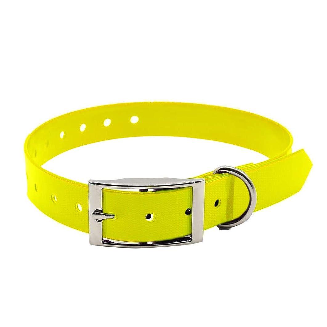 igingko Replacement Extra Waterproof Dog Collar,Adjustable TPU E-Collar Collar Strap Band Buckle 3/4