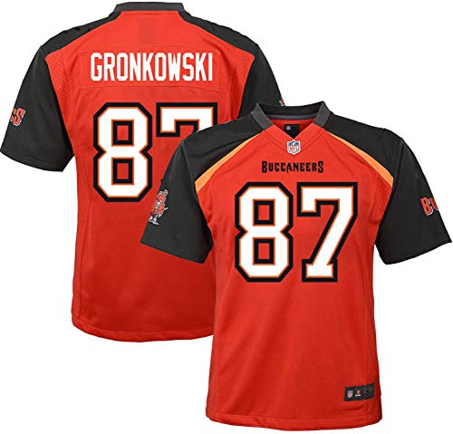 Outerstuff Rob Gronkowski Tampa Bay Buccaneers #87 Infants Toddler Red Home Game Day Jersey (4T)