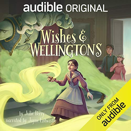 Wishes and Wellingtons audiobook cover art
